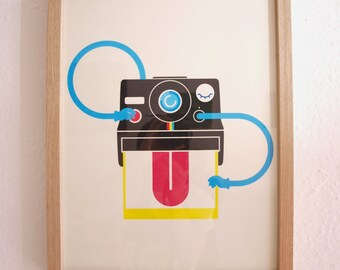 Snap You Up Series - Cheeky Polaroid