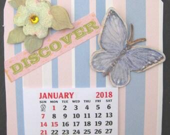 Mini Magnetic Calendar 2018