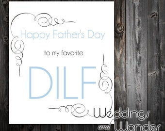DILF Father's Day - Beer Bottle Label