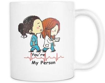 Grey's Anatomy-You're my person mug 11oz- 15oz