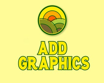 ADD-ON Add Graphics Design Listing for ONE