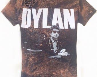 Bob Dylan T Shirt - Bob Dylan Shirt Small - Tom Petty T Shirt - Rock Band T Shirt - Cut Up Music Shirt - Shredded T Shirt