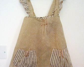 Printed pinafore tunic size 4t