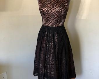 1950's Knockout Betty Union Label Dress