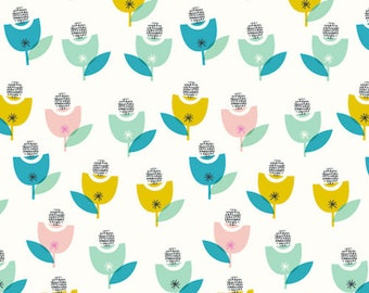 Dashwood Studio - Confetti - Flower Ball - Cotton Fabric (Quilting/Dressmaking)