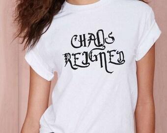 Harry Potter, Harry Potter Top, Potter T-shirt, Hogwarts T-shirt, Harry Potter Clothing, Chaos Reigned, Magic Top, Harry Potter Teens