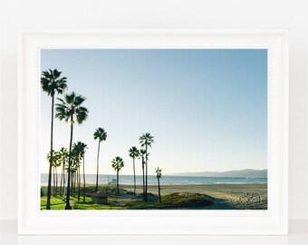 Pacific Beach Palms Photography Print