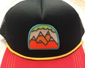 "Infant/Toddler Trucker Hat with ""5 Peak Mountain&q..."