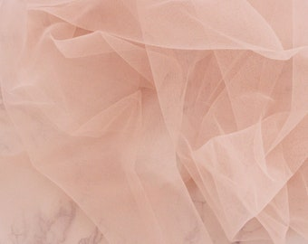 1/2 YD Dusty Pink Bra Tulle Bra Making