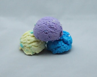 Cotton Candy Bubble Scoops