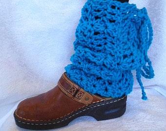 CROCHET PATTERN, Peacock Leg Warmers, Winter Accessories, girls and women, #840