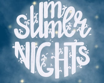 Summer nights posters