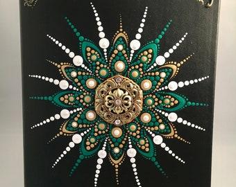 Dot Art Mandala Journal