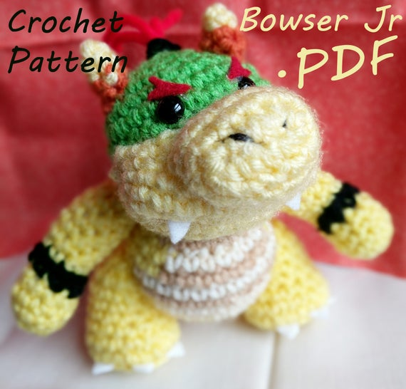 Pdf crochet pattern yoshis woolly world baby bowser pdf crochet pattern yoshis woolly world baby bowser bowser jr dt1010fo