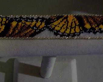 """Butterfly handwoven bracelet-8.5"""""""