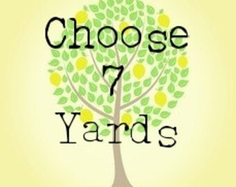 Choose Your Own 7 Yard Bundle