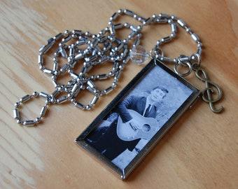 The Beatles~ John Lennon Double Sided Necklace