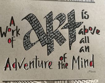Adventure of the mind