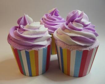 Summer Melon Spritzer Bath Bomb Cupcake