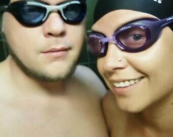 2  XL Dreadlock swimming cap Dread swim cap Braids, long hair and afro cap for water FREE SHIPPING shower cap swimcap