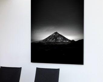 Poster Icelandic Dark Atmosphere