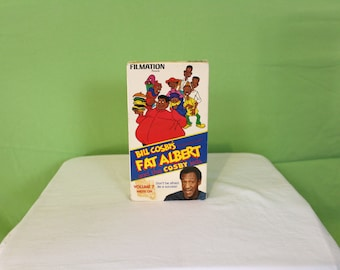 Fat Albert Cartoon Vintage VHS Tape. Fat Albert Movie. Bill Cosby's Fat Albert Cartoon. Voume 7 Write On. 1984 Filmation Fat Albert Vhs.
