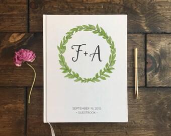 Rustic Wedding Guest Book. Custom Wedding Guestbook. Wedding Journal. Wedding Keepsake. Wedding gift. Custom Wedding Book.