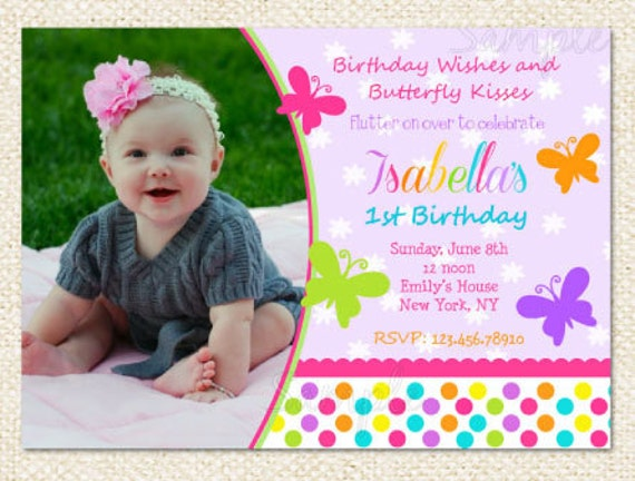 Butterfly birthday invitations stopboris Gallery