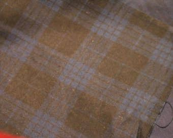 5 Flannel Black and Blue Plaid 5