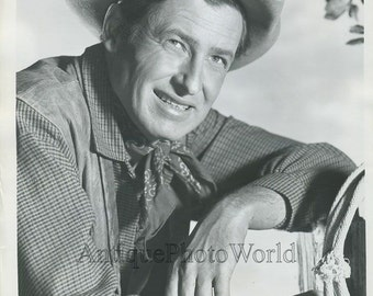 William Rogers Jr. actor cowboy vintage photo
