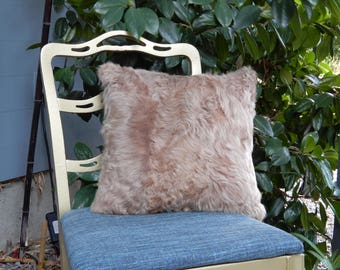Double-sided Fur Pillow