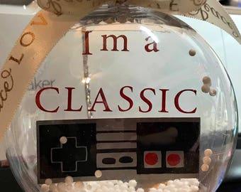 Nintendo Classic controller ornament