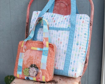 Bag It Up Pattern  from the Fat Quarter Gypsy - 4 Sizes: Small, Medium, Large and Jumbo
