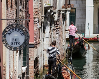 Venice Photography, Venice, Gondola, Italy Photography, Gallery Wall Art, Grand Canal Venice, Summer In Italy, Romantic Italy, Architecture