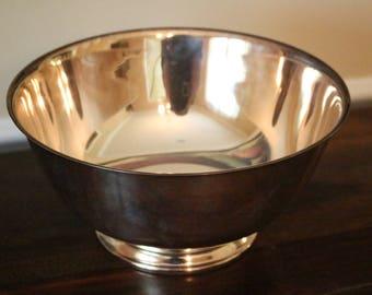 Vintage Oneida Silver Plate Bowl