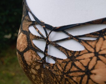Woven Geometric Pixie Top