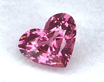 1.13 Ct.Very Good Color&Full Fire! Natural Pink Spinel