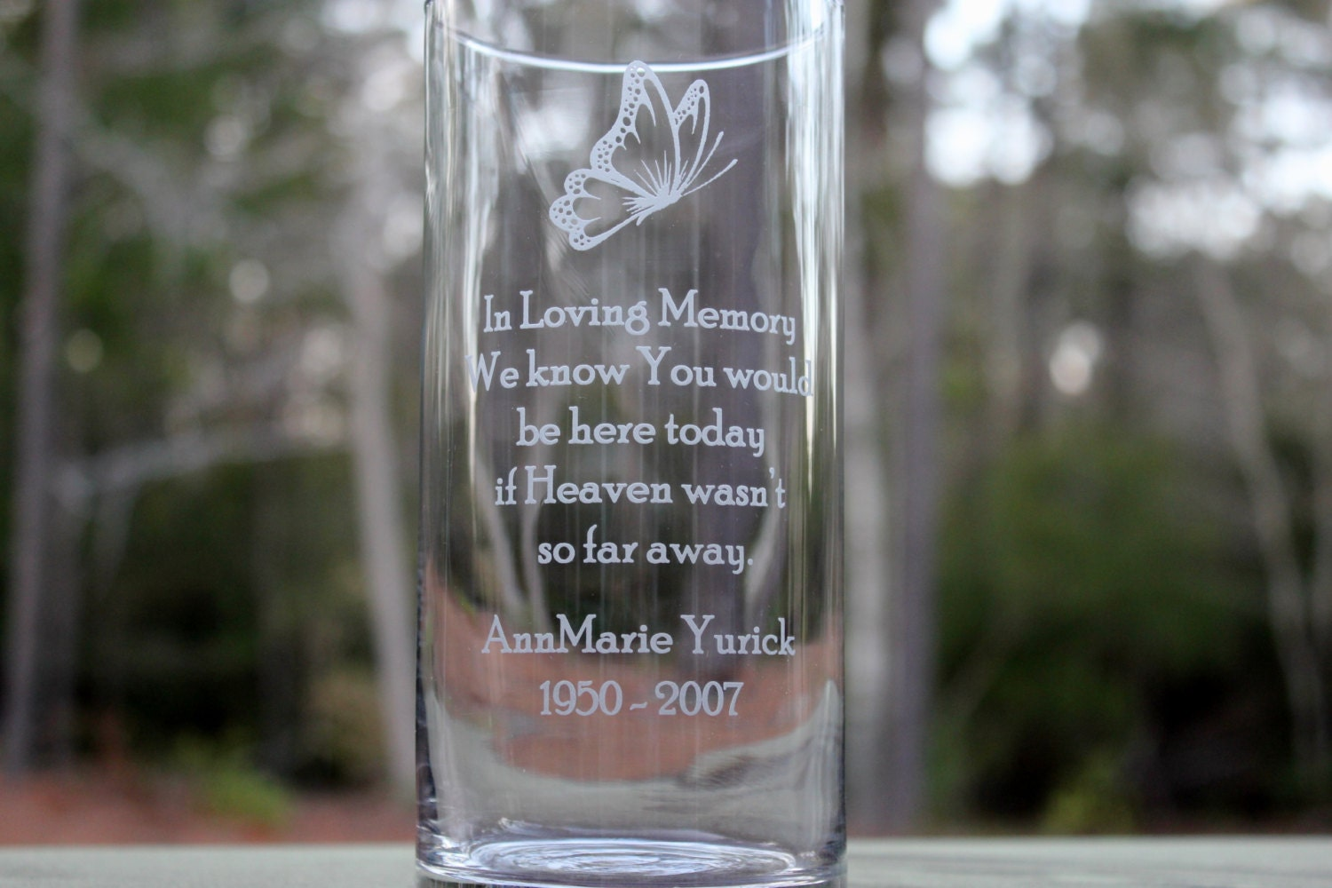 htm alternative vase p personalized wedding views