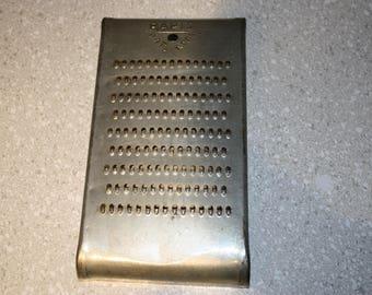Vintage metal cheese grater RAPID grater