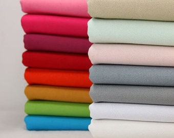 "20oz Heavy weight canvas, Solid cotton canvas fabric, great for bag purse and sofa cover, 43"" wide- 1/2 yard"