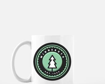 Minnesota Mug | 11 oz. Coffee Mug | Minnesota Coffee Mug