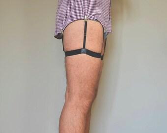 Shirt Stays, Adjustable Suspenders, Suspenders For Shirt, Shirt Strap, Leg Suspenders Shirt