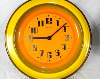 Reserved. You just won't be able to find a clock that is funkier than this! Original German 'ZenRa' ceramic wall clocks