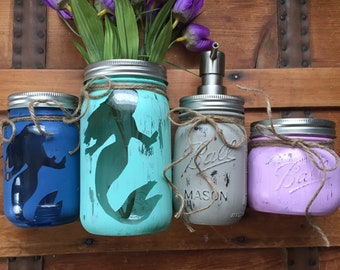 Mermaid 4 Jar Set