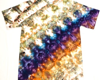 Medium Tie Dye Orchids T-shirt