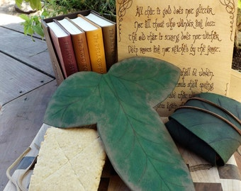 Lembas Bread leaf covering