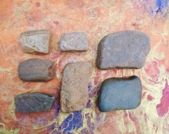 Square Rocks, Rectangular Rocks, River Rocks, Beach Stones, Lucky Stones, Collectible Rocks, Nature Decor, Beach Decor, Rocks For Decoration