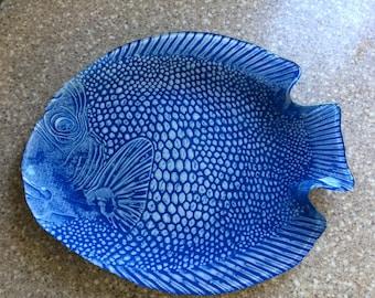 Blue Fish Plate