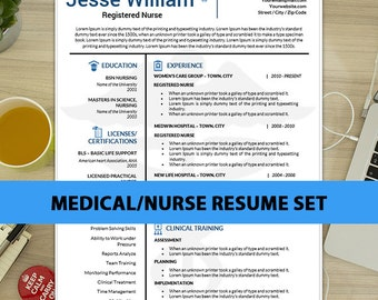 Nursing Resume | Etsy