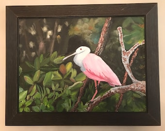 Bird in the jungle    Picture 18 x 24